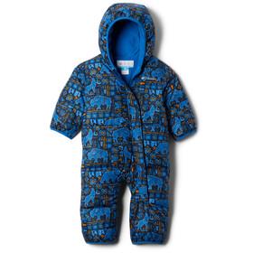Columbia Snuggly Bunny Bunting Mono Bebés, azul